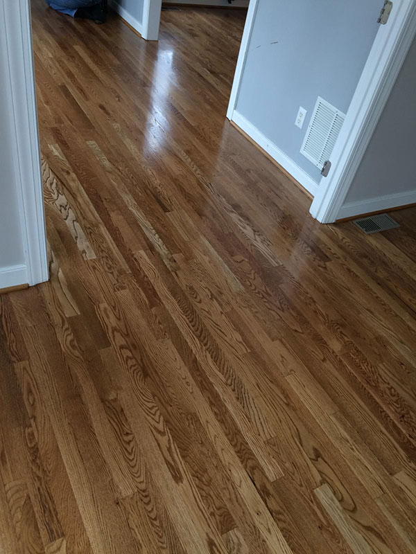 Hardwood Floor Refinishing Before Amp After Gallery Buff